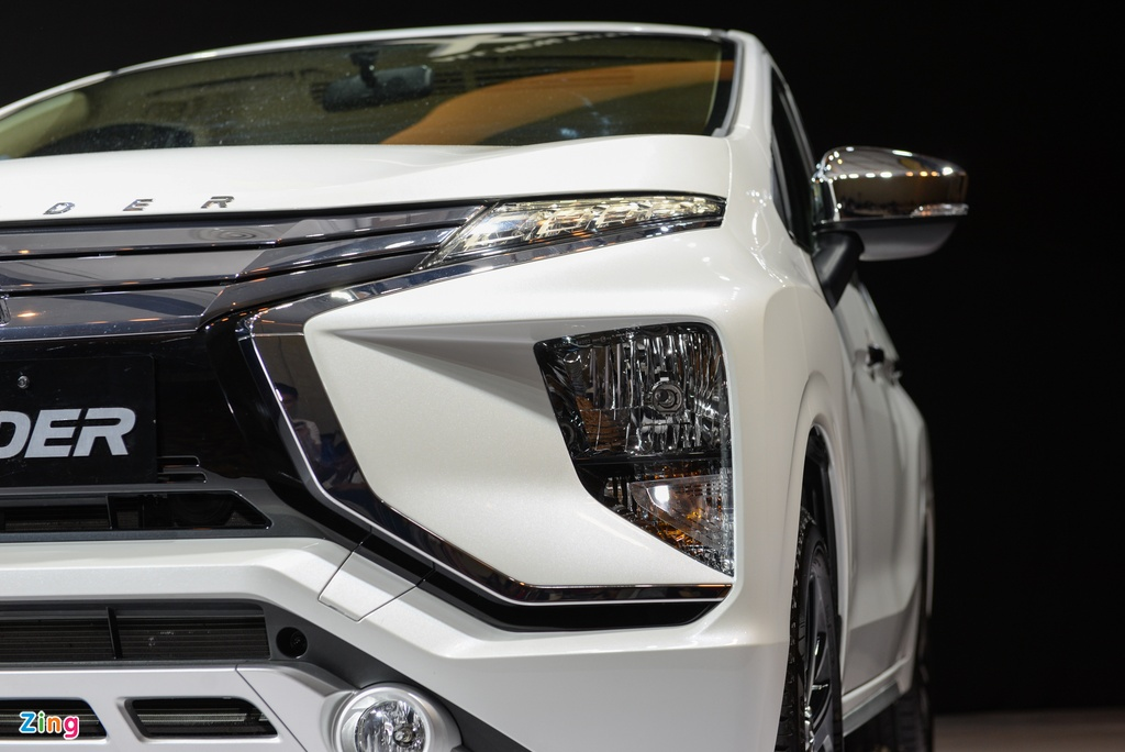 Anh Mitsubishi Xpander: Gia tot, thiet ke dep, dong co nho hinh anh 4