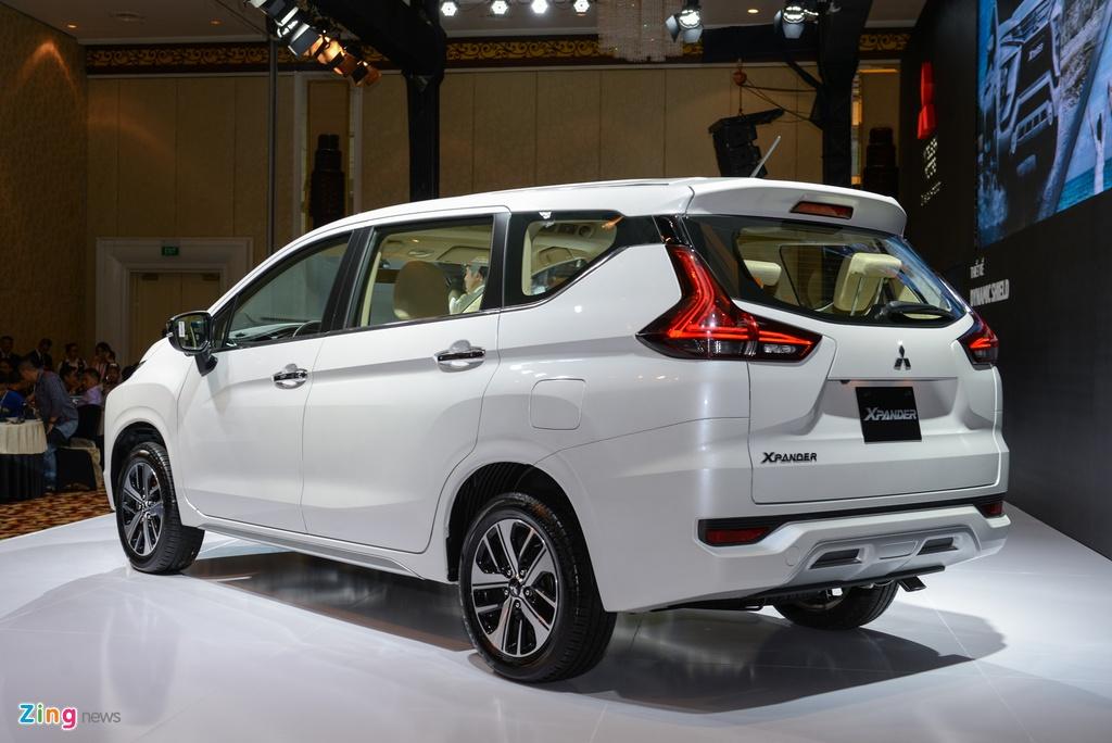 Anh Mitsubishi Xpander: Gia tot, thiet ke dep, dong co nho hinh anh 6
