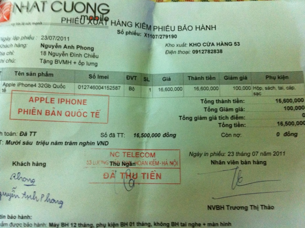 Nhat Cuong Mobile tung bi to lua dao, chat chem khach hang hinh anh 1