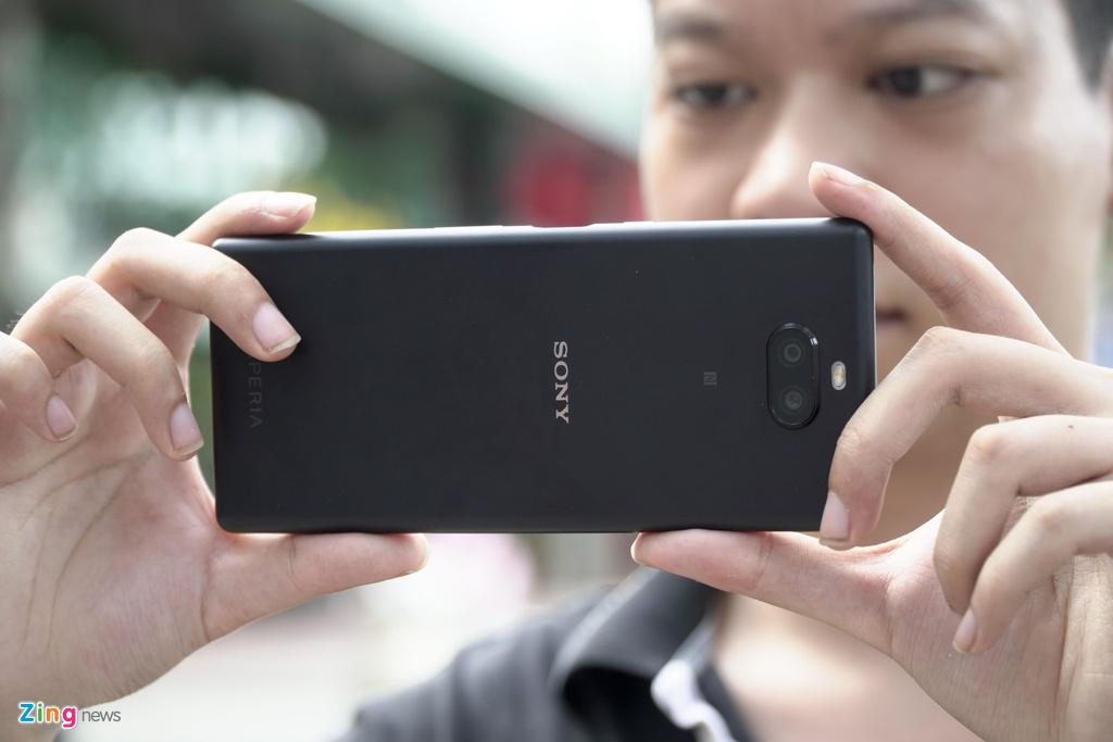 Sony Xperia 10 Plus ve VN - man hinh 21:9, gia 8,2 trieu dong hinh anh 7