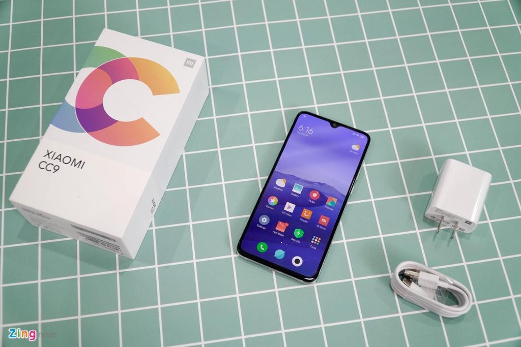 danh gia Xiaomi Mi CC9 anh 9