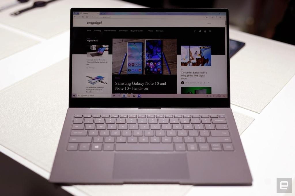 Galaxy Book S ra mat - lai giua smartphone va laptop, pin 23 tieng hinh anh 4