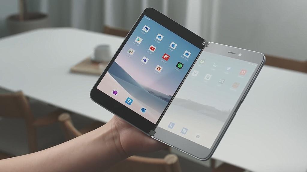 Chi tiet Surface Duo - di dong man gap, dep gon nhu cuon so hinh anh 7