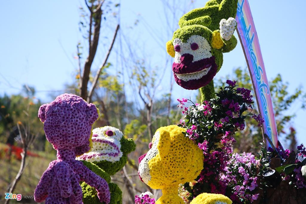 Sac mau ruc ro o festival Hoa Da Lat 2015 hinh anh 17