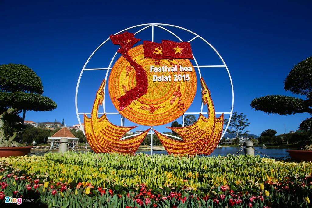 Sac mau ruc ro o festival Hoa Da Lat 2015 hinh anh 10