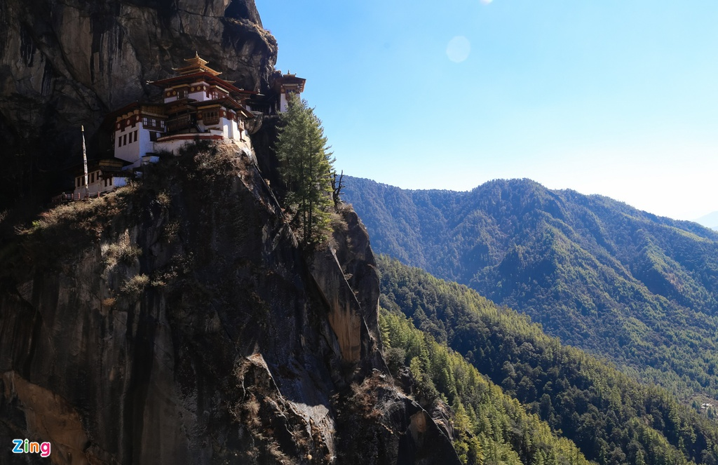 chinh phuc Tiger Nest Bhutan anh 15