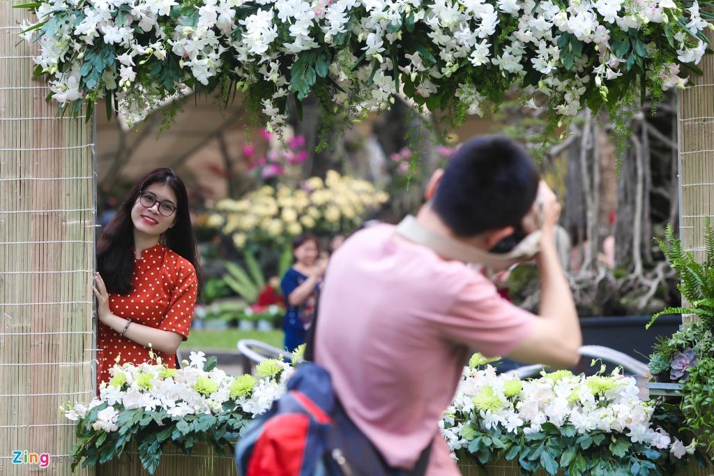 Hang nghin nguoi dao choi Hoi hoa xuan Tao Dan hinh anh 6