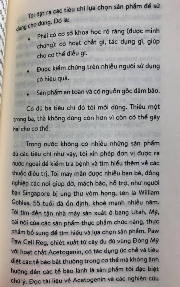 Sach 'Ung thu khong phai la chet' bi to dua thong tin phan khoa hoc hinh anh 3