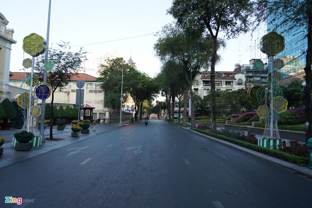 Quang cảnh được chụp trên đường Đồng Khởi (quận 1).