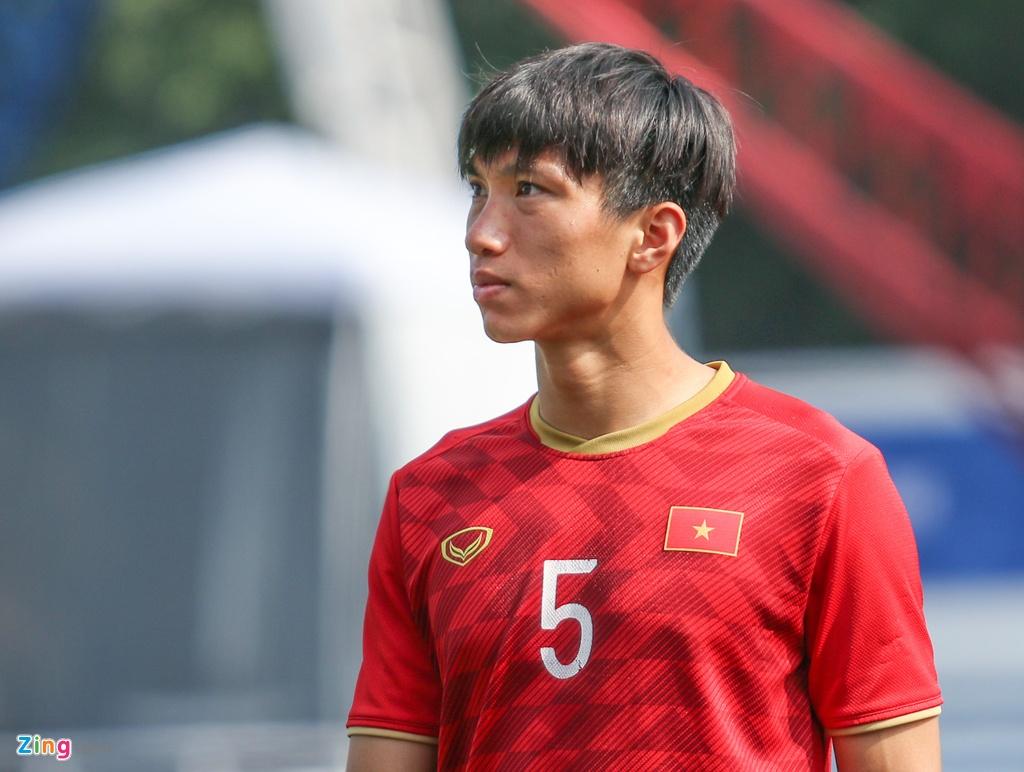 HLV Park trao doi voi Tien Dung truoc ban ket SEA Games hinh anh 5