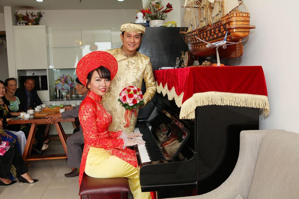 Vo moi cuoi cua Hoang Phuc tro tai choi piano hinh anh 1