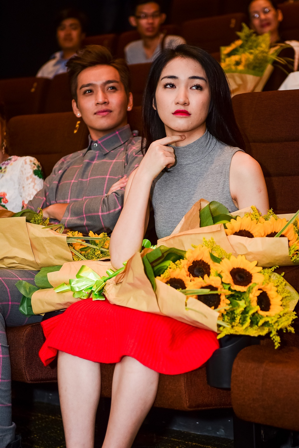 Hoa Minzy tham gia Guong mat than quen anh 9