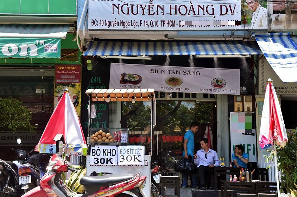 Vo chong dien vien Nguyen Hoang mo quan ca phe muu sinh hinh anh 1