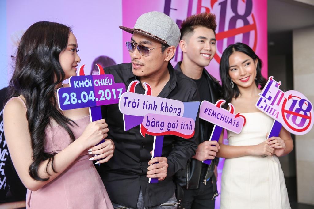 Kieu Minh Tuan so dong 'canh nong' voi dien vien chua du 18 tuoi hinh anh 2