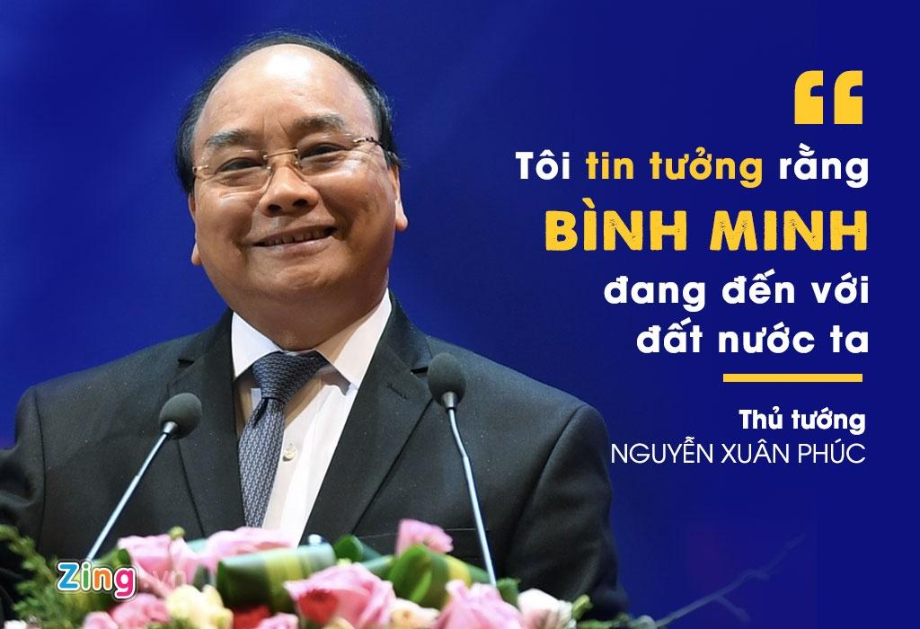 10 phat ngon an tuong cua Thu tuong tai hoi nghi doanh nghiep lan hai hinh anh 1