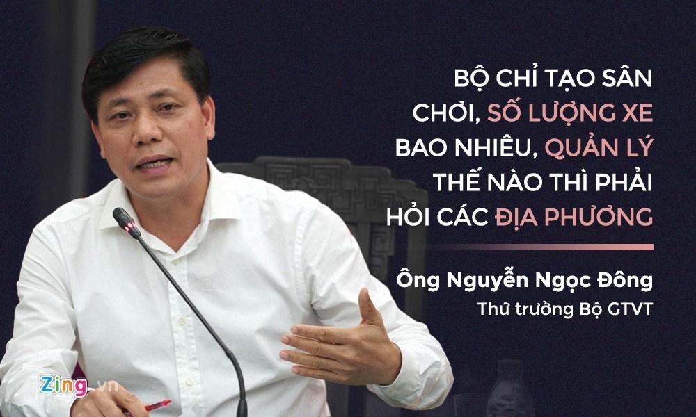 'Luong xe phinh to, loi o dia phuong' hinh anh 1