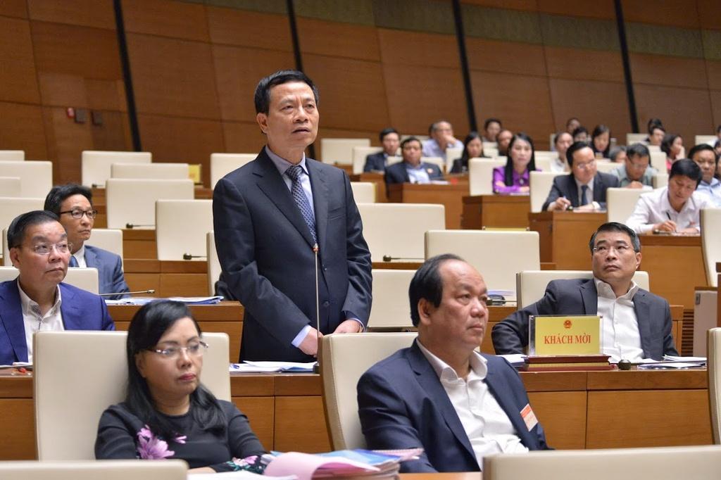 Bộ trưởng Nguyễn Mạnh Hùng nói về việc 'quét rác' trên mạng xã hội