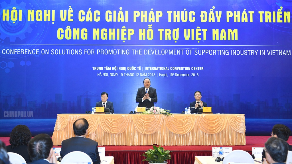 Thu tuong: Dua tinh than Park Hang-seo vao cong nghiep phu tro Viet hinh anh 2