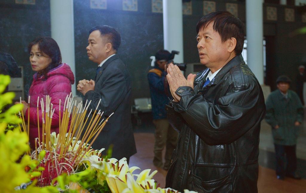 Pho thu tuong Trinh Dinh Dung vieng nhac si Nguyen Trong Tao hinh anh 8