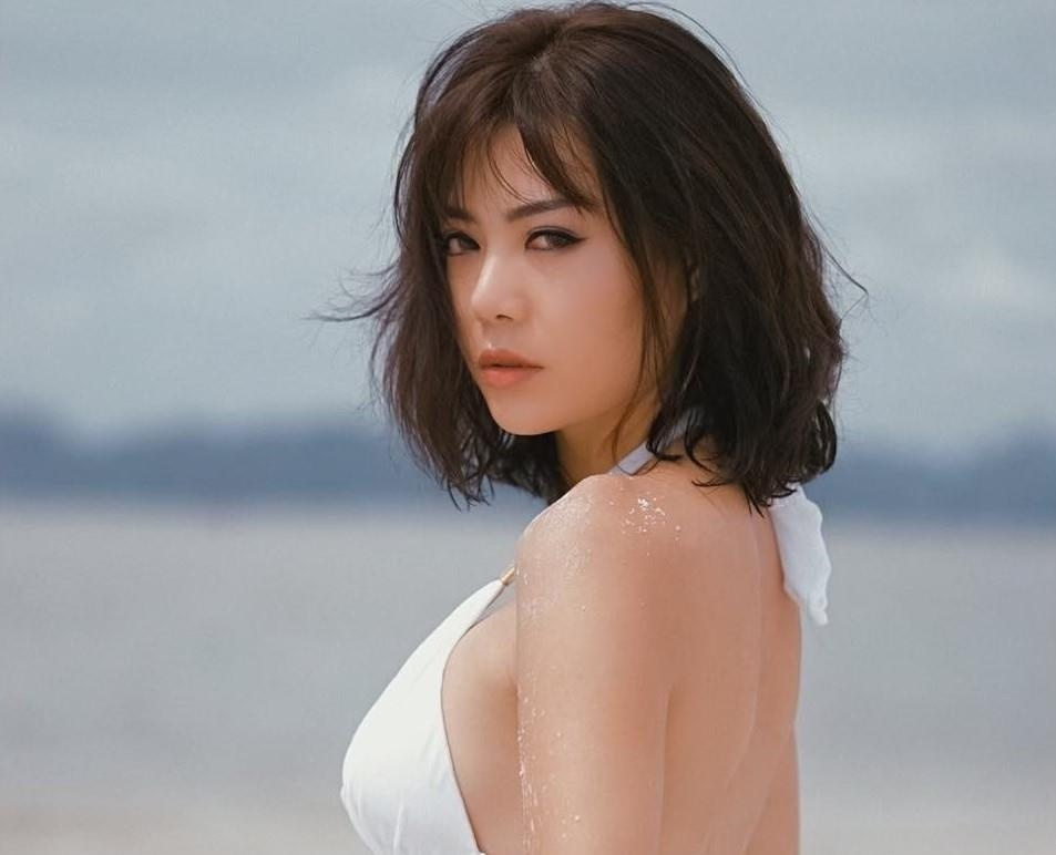 Thanh Huong: 'Khong coi hot girl nhu Phi Huyen Trang la dong nghiep' hinh anh 4