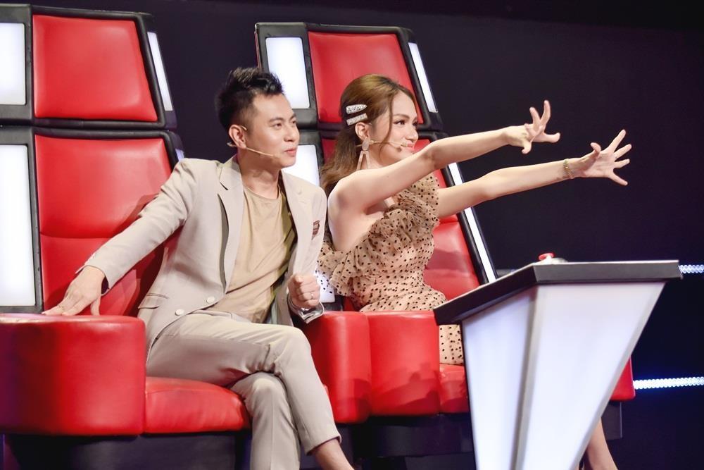 Noi qua nhieu o The Voice Kids, Huong Giang bi Luu Thien Huong 'chinh' hinh anh 2