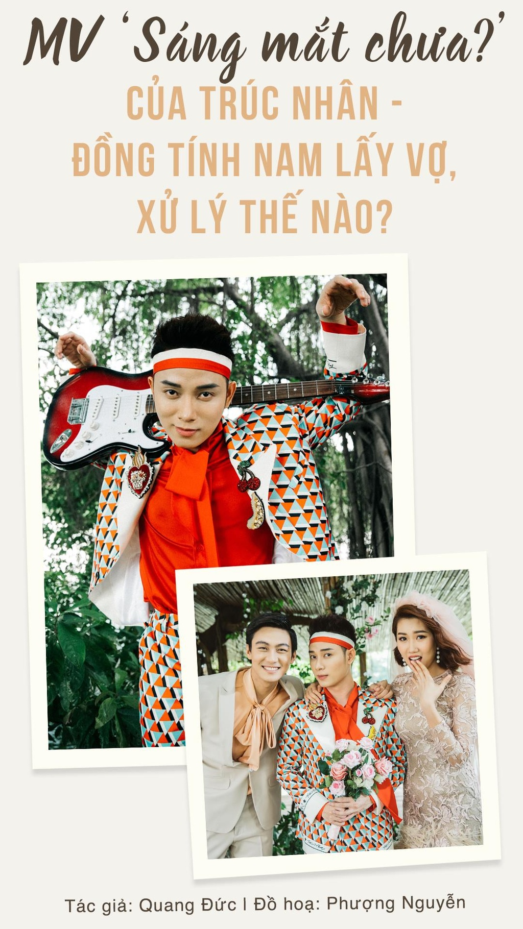 'Sang mat chua' cua Truc Nhan - dong tinh nam lay vo, xu ly the nao? hinh anh 1