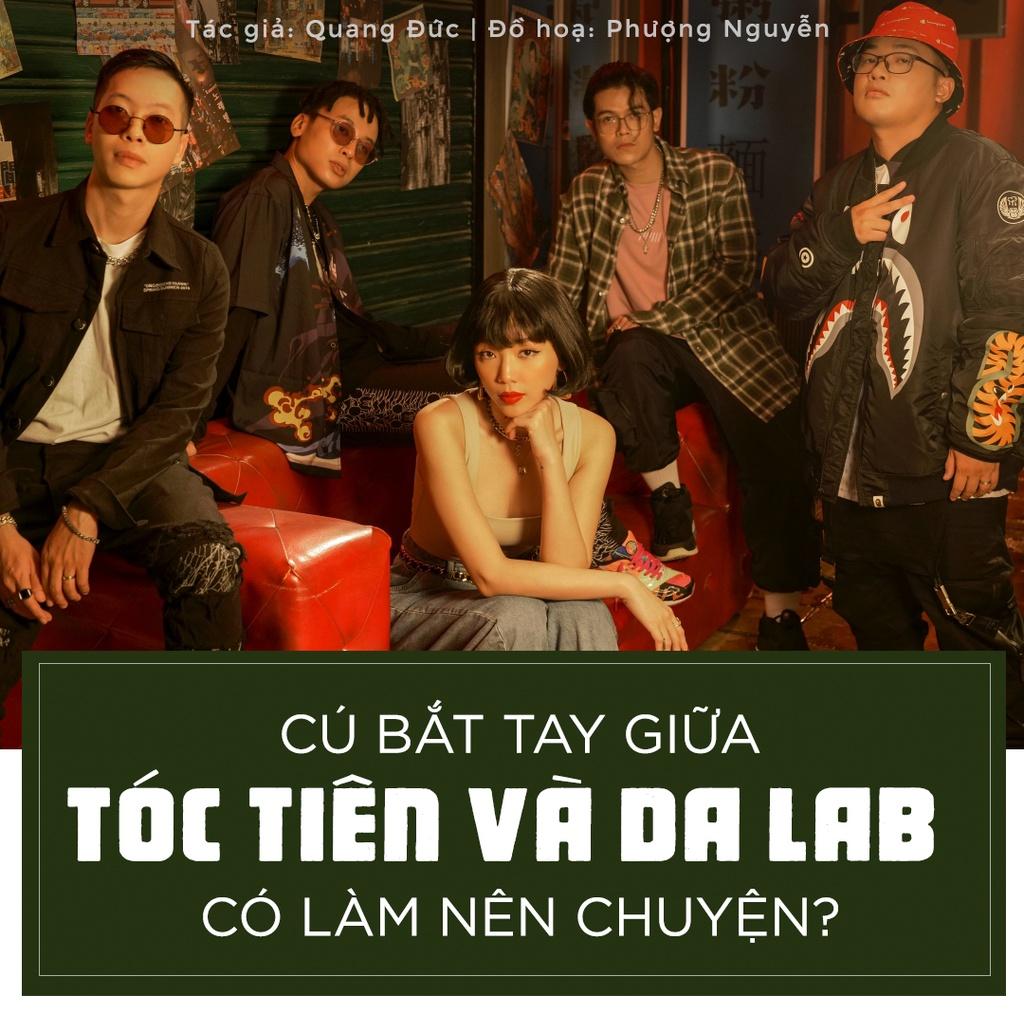 Cú bắt tay giữa Tóc Tiên và Da LAB có làm nên chuyện?