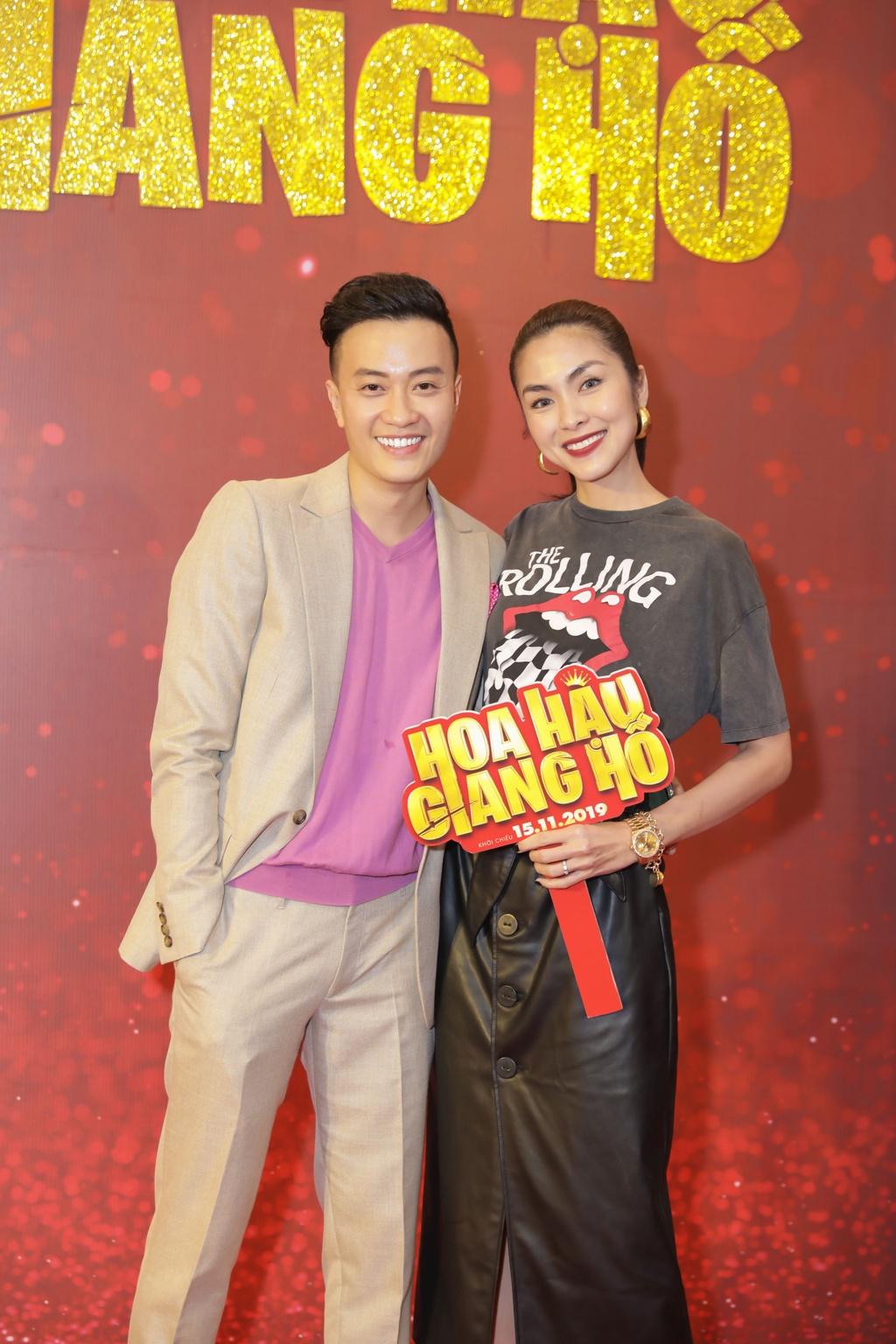 Tang Thanh Ha di xem phim cua Luong Manh Hai hinh anh 2
