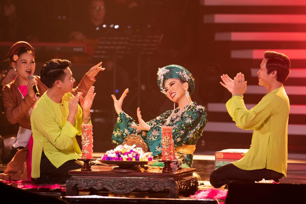 Le Quyen hau dong cung me trong live show hang chuc ty dong hinh anh 7 IMG_3404.JPG