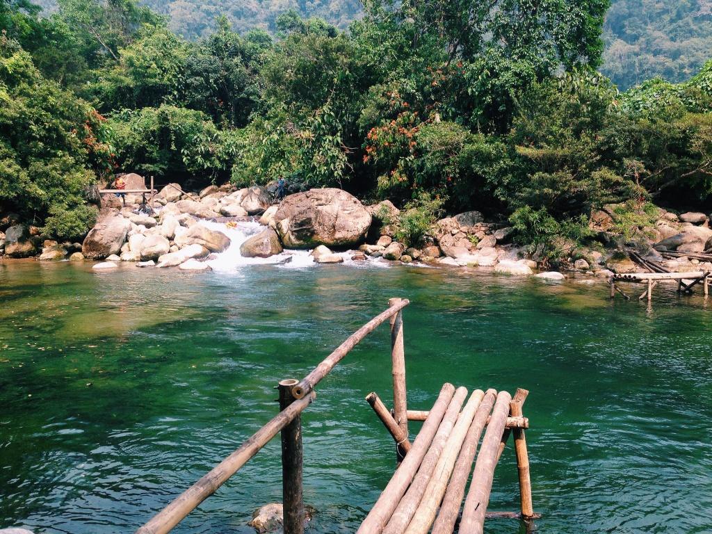 Suoi Nuoc Mooc dep nhu tien canh o Quang Binh hinh anh 16
