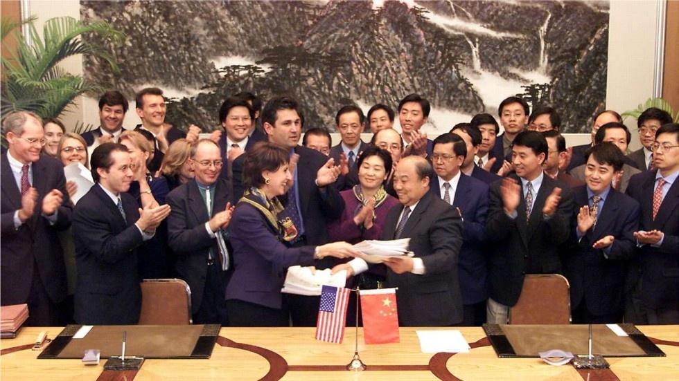 Trump huy hoai WTO anh 2