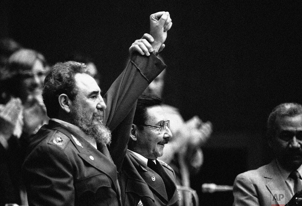 Gia dinh Fidel Castro anh 5