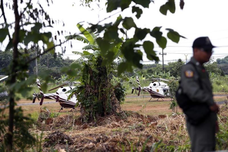Thai Lan don trong cua hang Tham Luang, san sang don doi bong nhi hinh anh 7