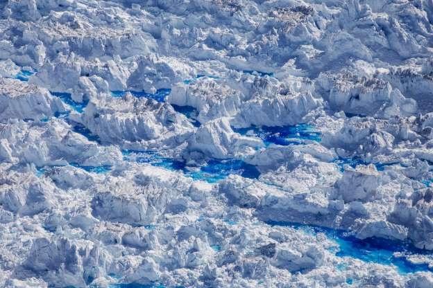 Song bang Greenland tan vo, dau hieu ro rang cua bien doi khi hau hinh anh 3