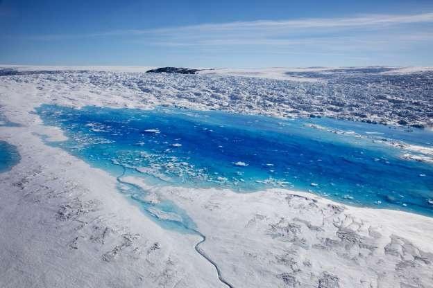 Song bang Greenland tan vo, dau hieu ro rang cua bien doi khi hau hinh anh 5