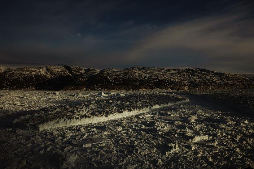 Song bang Greenland tan vo, dau hieu ro rang cua bien doi khi hau hinh anh 7