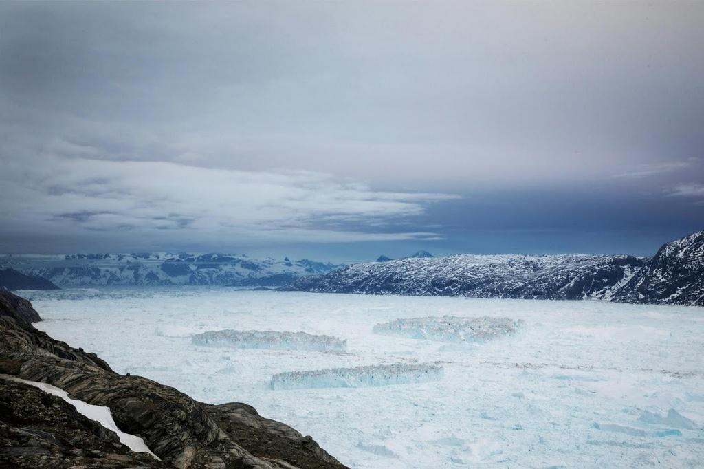 Song bang Greenland tan vo, dau hieu ro rang cua bien doi khi hau hinh anh 8
