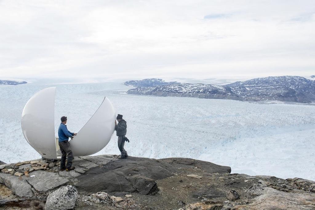 Song bang Greenland tan vo, dau hieu ro rang cua bien doi khi hau hinh anh 6