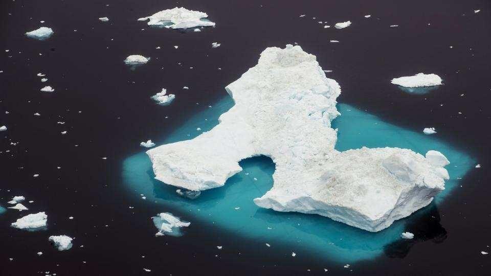 Song bang Greenland tan vo, dau hieu ro rang cua bien doi khi hau hinh anh 2