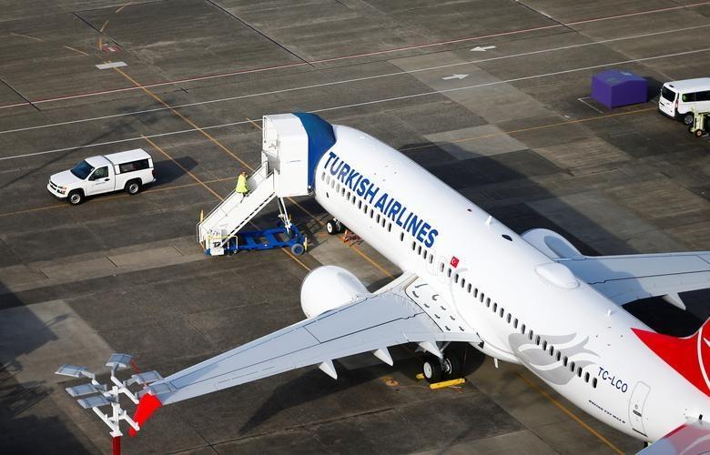 Dan may bay 737 MAX tai nha may Boeing nhin tu tren khong hinh anh 6