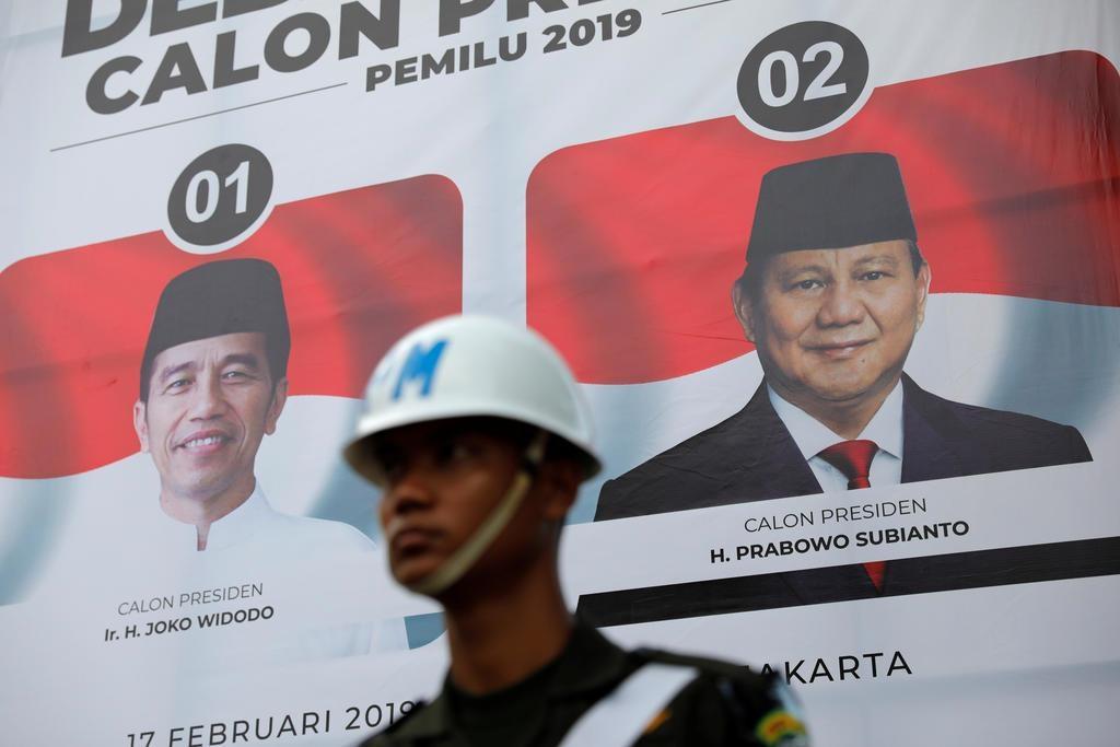 Mua phieu bau cu Indonesia anh 1