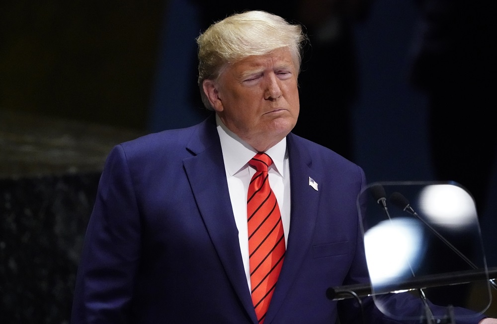 Phat bieu o Lien Hop Quoc, TT Trump muon doi lai cong ly tu Trung Quoc hinh anh 1