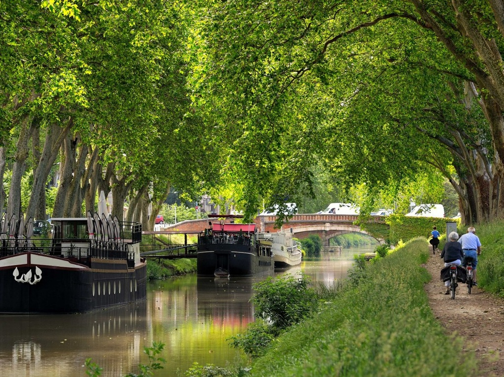 Nhung dieu dang tiec neu bo qua khi den Phap hinh anh 17 Đi thuyền dọc kênh Canal du Midi, di sản UNESCO chảy từ Toulouse đến biển Địa Trung Hải.