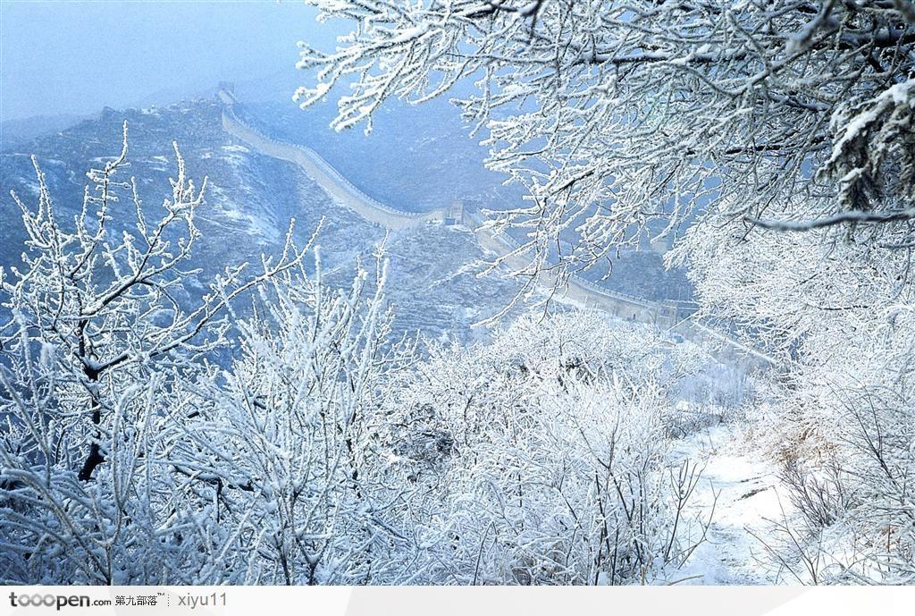 Van Ly Truong Thanh hung vi trong tuyet trang hinh anh 8 Bởi thiên nhiên tự nó đã quá đẹp... Ảnh: Tooopen