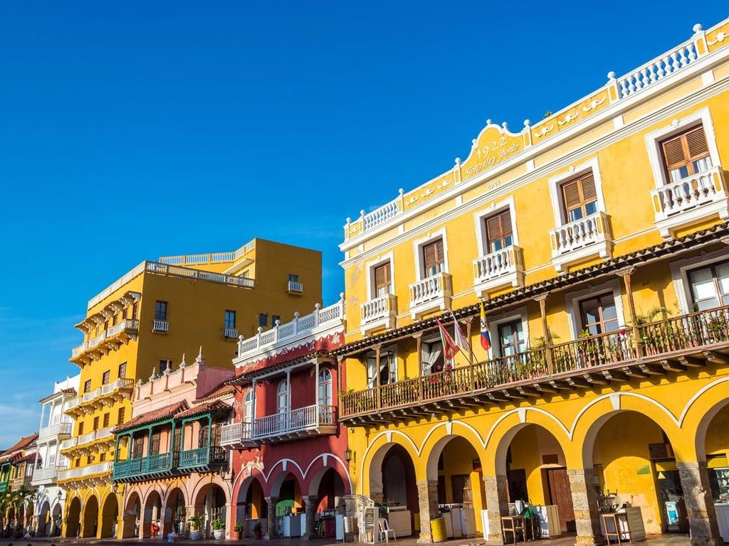 10 dia danh duoc nhieu du khach mo uoc nhat hinh anh 2 2. Cartagena, Colombia: Nằm trên bờ biển Caribbe với những bãi biển tuyệt đẹp và một thị trấn cổ, những con đường trải sỏi, những nhà thờ lớn và những bức tường cổ kính, nơi đây được UNESCO công nhận là di sản thế giới.