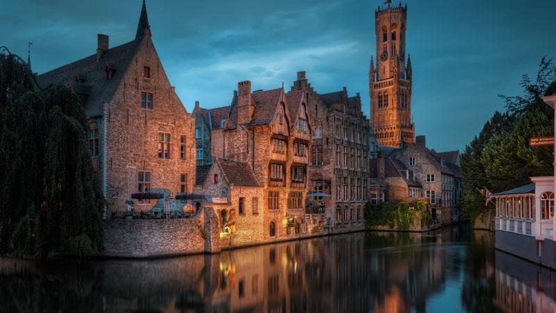 Bruges - thanh pho co tich o chau Au hinh anh 1