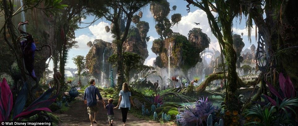 Disneyland mo cua Pandora,  The World of Avatar anh 1