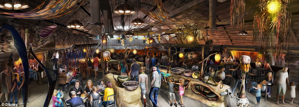 Disneyland mo cua Pandora,  The World of Avatar anh 3