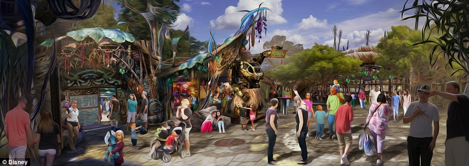Disneyland mo cua Pandora,  The World of Avatar anh 4