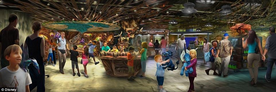 Disneyland mo cua Pandora,  The World of Avatar anh 5